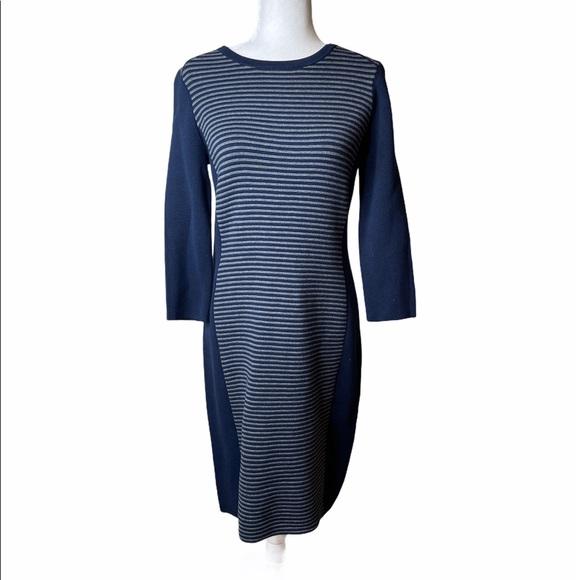 J. McLaughlin Darla Ottoman Stripe Dress Sz. M
